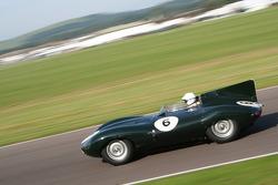 Sussex Trophy race: Gary Pearson-55 Jaguar Dtype