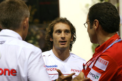 Jarno Trulli, Toyota F1 Team, Martin Whitmarsh, McLaren, Chief Executive Officer and Stefano Domenicali, Scuderia Ferrari Sporting Director