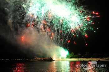 Red Bull Party at Sentosa Island: fireworks