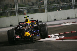 Mark Webber, Red Bull Racing, RB4 in the air