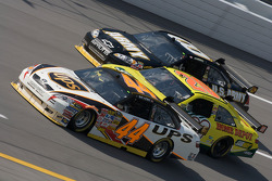 David Reutimann, Tony Stewart and Aric Almirola