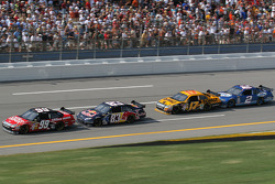 Carl Edwards, Brian Vickers, Matt Kenseth and Kurt Busch