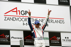Podium, Loic Duval, driver of A1 Team France
