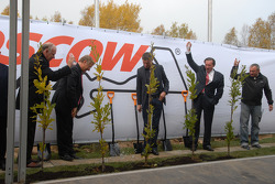 Moscow Raceway Ground Laying Ceremony