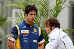 Lucas Di Grassi Test Driver, Renault F1 Team, Luca Filippi, Test Driver, Honda Racing F1 Team