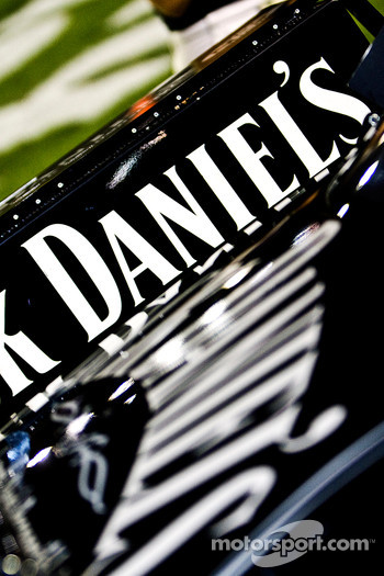 Jack Daniels No. 07 crew prepares for the race