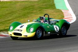 Mark Gibbon, and David Hall, Lister-Chevrolet, 1958