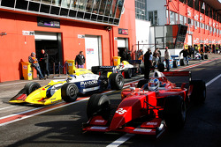 #25 Karl-Heinz Becker, WS Dallara Nissan, #11 Walter Colacino, IRL G-Force