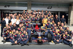 Scuderia Toro Rosso team shot, Sebastian Vettel, Scuderia Toro Rosso, Sébastien Bourdais, Scuderia Toro Rosso