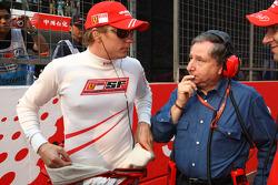 Kimi Raikkonen, Scuderia Ferrari and Jean Todt, Scuderia Ferrari, Ferrari CEO