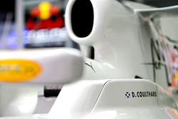 A detail of the Red Bull Racing RB4 of David Coulthard