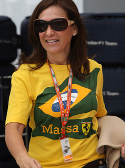 Ana Helena, Mother of Felipe Massa, Scuderia Ferrari