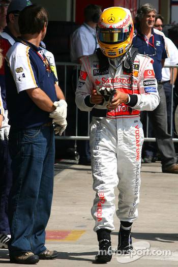 Fourth place Lewis Hamilton