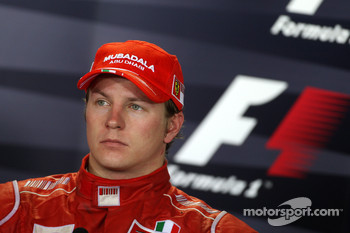 Post-race press conference: third place Kimi Raikkonen