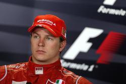 Post-race press conference: third place Kimi Raikkonen