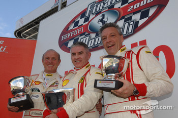Saturday: Group C race 1 podium