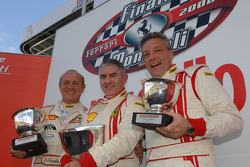Saturday: Group C race 1 podium