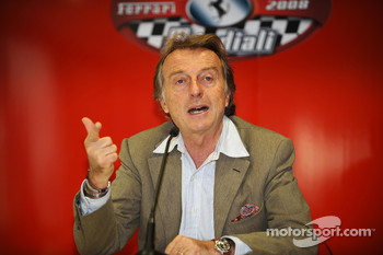 Press conference: Luca di Montezemolo
