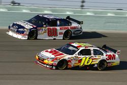 Greg Biffle and Dale Earnhardt Jr.