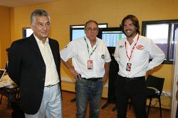 Alberto Rodriguez Saa, Juan Mario Traverso and Stéphane Ratel