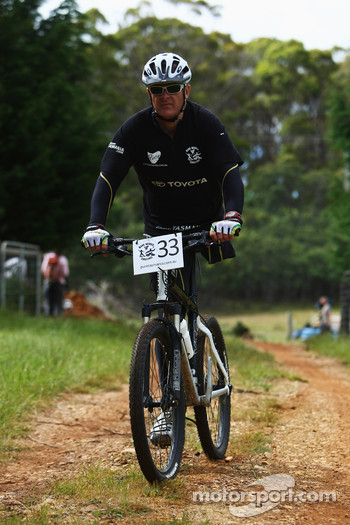 Launceston, Australia: Michael Milton of Team Toyota in action