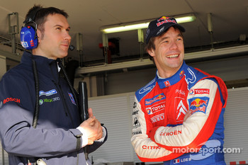 Sébastien Loeb with Christophe Besse
