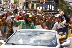 Parade for Nelson A. Piquet and Ana Beatriz