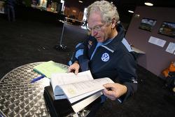 Volkswagen Motorsport at scrutineering