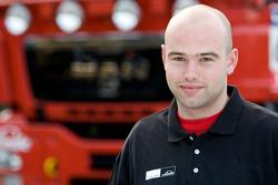 MAN Rally Team: Michel van de Sande, service truck 2