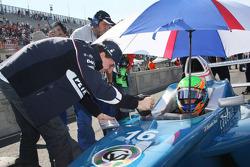 Robert Kubica, BMW Sauber F1 Team and Alexander Rossi, Eurointernational