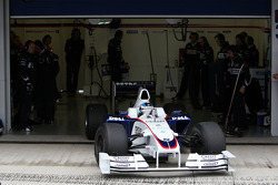 Nick Heidfeld, BMW Sauber F1 Team, interim 2009 car