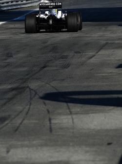 Nico Rosberg, WilliamsF1 Team, interim 2009 car- Formula 1 Testing, Jerez