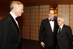 FIA President Max Mosley, His Serene Highness Prince Albert of Monaco, Bernie Ecclestone and Head of Mercedes Dr. Dieter Zetsche