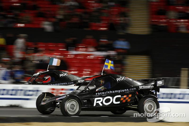 Heat, race 6: Mattias Ekström vs Adam Carroll