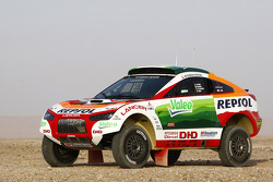 Repsol Mitsubishi Ralliart Team presentation in Morocco: the Mitsubishi Racing Lancer