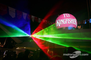 Kingfisher boat party on the Indian Empress