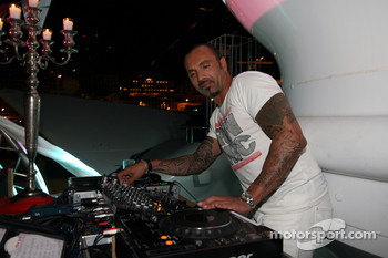 David Morales, DJ at the Indian Empress Fly Kingfisher Closing Party