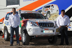 Equipa Padock: driver Martine Pereira and co-driver Jose Marques