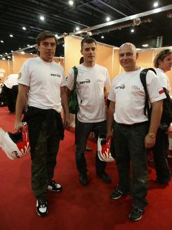 Marek Dabrowski, Jakub Przygonski and Jacek Czachor