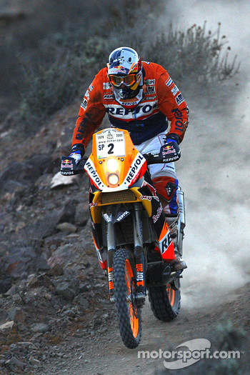 #2 KTM 690 Rallye: Marc Coma