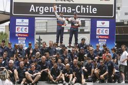 Car category podium: 9th place Guerlain Chicherit and Matthieu Baumel