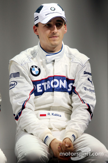 Press conference: Robert Kubica