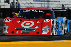 #02 Chip Ganassi Racing with Felix Sabates Lexus Riley: Scott Dixon, Dario Franchitti, Alex Lloyd