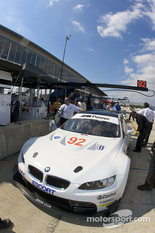 #92 BMW Rahal Letterman Racing Team BMW E-92 M3