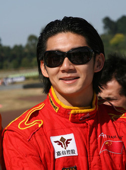 Ho Pin Tung, driver of A1 Team China