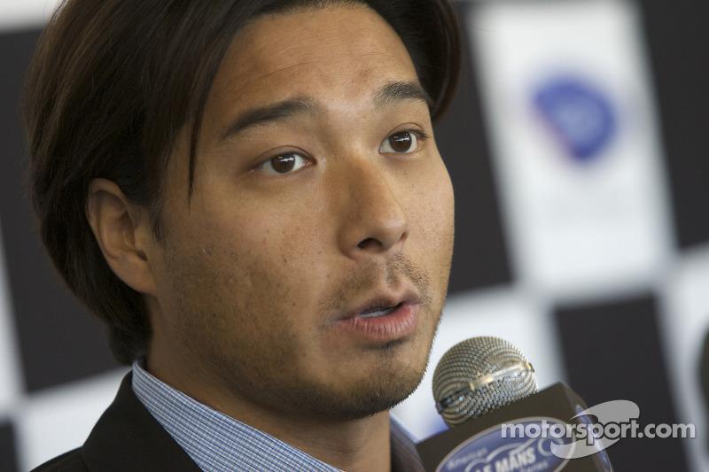 American Le Mans Series Mikimoto sponsorhip announcement press conference: Mikimoto Vice President Yugo Tsukikawa