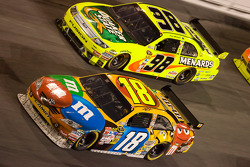 Kyle Busch and Paul Menard