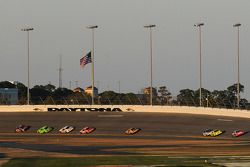 Race action in Turn 3