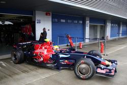 Sebastien Buemi, Scuderia Toro Rosso- Formula 1 Testing, Jerez