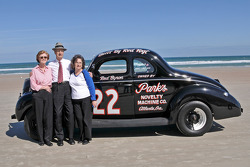 Living legends of auto racing beach parade: Raymond Park